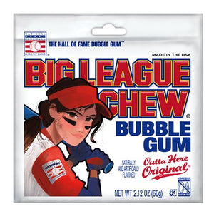 All City Candy Big League Chew Softball Outta Here Original Bubble Gum - 2.12-oz. Bag Gum/Bubble Gum Ford Gum & Machine Company 1 Bag For fresh candy and great service, visit www.allcitycandy.com