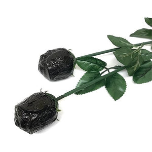 All City Candy Black Foiled Belgian Chocolate Color Splash Roses Chocolate Albert's Candy 1 Piece For fresh candy and great service, visit www.allcitycandy.com