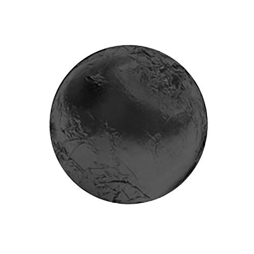 Black Foiled Solid Milk Chocolate Balls - 2 LB Bulk Bag For fresh candy and great service, visit us at www.allcitycandy.com