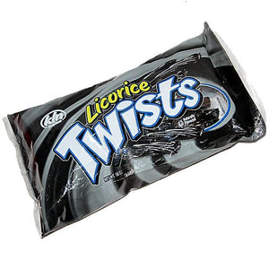 All City Candy Black Licorice Twists - 16-oz. Bag Kenny's Candy Company Default Title For fresh candy and great service, visit www.allcitycandy.com