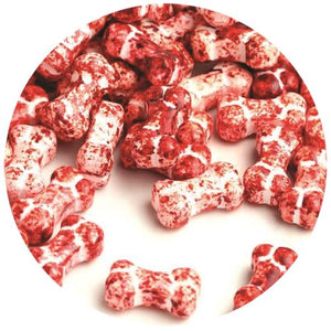 All City Candy Bloody Bones Pressed Candy - 3 LB Bulk Bag Bulk Unwrapped SweetWorks For fresh candy and great service, visit www.allcitycandy.com