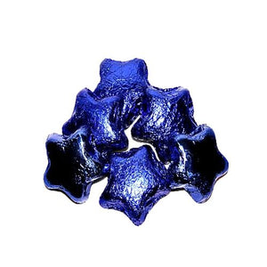 All City Candy Blue Foiled Milk Chocolate Stars - 3 LB Bulk Bag Bulk Wrapped Madelaine Chocolate Company Default Title For fresh candy and great service, visit www.allcitycandy.com
