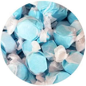 All City Candy Blue Raspberry Salt Water Taffy - 3 LB Bulk Bag Bulk Wrapped Sweet Candy Company For fresh candy and great service, visit www.allcitycandy.com