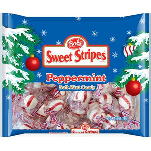 All City Candy Bob's Holiday Sweet Stripes Soft Mint Candy 10 oz Ferrara Candy Company Default Title For fresh candy and great service, visit www.allcitycandy.com