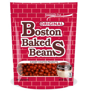 All City Candy Boston Baked Beans Candy Coated Peanuts Nuts Ferrara Candy Company 8-oz. Resealable Bag For fresh candy and great service, visit www.allcitycandy.com