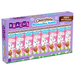 All City Candy Brach's Chocolate Covered Marshmallow Rabbit .39 oz. 8 Pack Easter Brach's Confections (Ferrara) For fresh candy and great service, visit www.allcitycandy.com