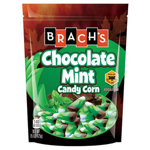 All City Candy Brach's Chocolate Mint Candy Corn - 15-oz. Bag Candy Corn Brach's Confections (Ferrara) 1 Bag For fresh candy and great service, visit www.allcitycandy.com