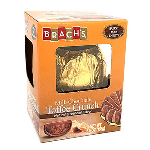 All City Candy Brach's Milk Chocolate Toffee Crunch Burst 5.5 oz. Chocolate Brach's Confections (Ferrara) For fresh candy and great service, visit www.allcitycandy.com