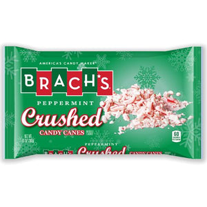 All City Candy Brach's Peppermint Crushed Candy Canes - 10-oz. Bag Christmas Brach's Confections (Ferrara) Default Title For fresh candy and great service, visit www.allcitycandy.com