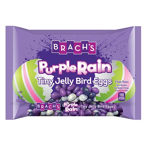 Brach's Purple Rain Tiny Jelly Bird Eggs - 13-oz. Bag For fresh candy and great service, visit us at www.allcitycandy.com