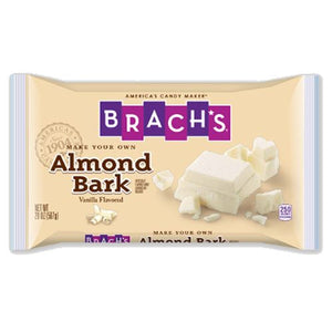 All City Candy Brach's Vanilla Almond Bark - 20-oz. Bag Chocolate Brach's Confections (Ferrara) Default Title For fresh candy and great service, visit www.allcitycandy.com