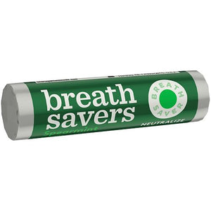 All City Candy Breath Savers Spearmint Mints - .75-oz. Roll Mints Hershey's For fresh candy and great service, visit www.allcitycandy.com
