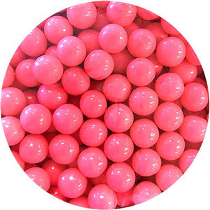 "All City Candy Bright Pink Color Splash 1/2"" Gumballs - 2 LB Bulk Bag Bulk Unwrapped Albert's Candy For fresh candy and great service, visit www.allcitycandy.com"