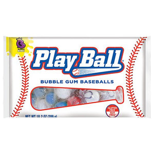All City Candy Bubble King Play Ball Bubble Gum Baseballs - 10.2-oz. Bag Gum/Bubble Gum SweetWorks For fresh candy and great service, visit www.allcitycandy.com