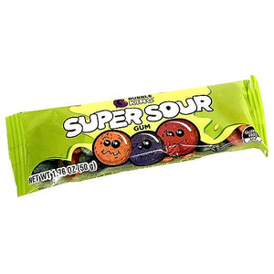 All City Candy Bubble King Super Sour Gum 1.76-oz. Pack Gum/Bubble Gum SweetWorks 1 Piece For fresh candy and great service, visit www.allcitycandy.com
