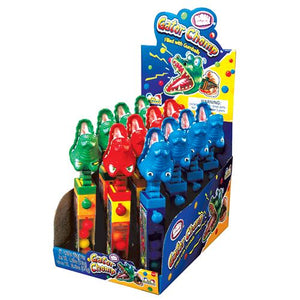 All City Candy Bubble Mania Gator Chomp Gum-Filled Toy Novelty Kidsmania Case of 12 For fresh candy and great service, visit www.allcitycandy.com