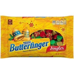 All City Candy Butterfinger Jingles Candy - 10-oz. Bag Christmas Nestle For fresh candy and great service, visit www.allcitycandy.com