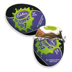 All City Candy Cadbury Halloween Milk Chocolate Screme Egg 1.2 oz. Halloween Hershey's 1 Piece For fresh candy and great service, visit www.allcitycandy.com