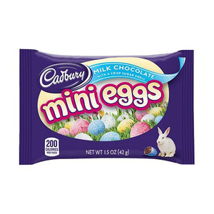 All City Candy Cadbury Milk Chocolate Mini Eggs Candy - 1.5-oz. Bag Easter Hershey's For fresh candy and great service, visit www.allcitycandy.com