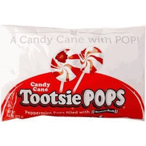 All City Candy Candy Cane Tootsie Pops - 9.6-oz. Bag Lollipops & Suckers Tootsie Roll Industries For fresh candy and great service, visit www.allcitycandy.com