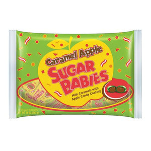 All City Candy Caramel Apple Sugar Babies - 10-oz. Bag Caramel Candy Charms Candy (Tootsie) Default Title For fresh candy and great service, visit www.allcitycandy.com