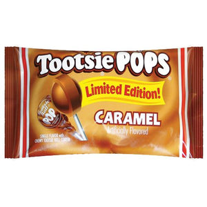 All City Candy Caramel Tootsie Pops - 12.6-oz. Bag Lollipops & Suckers Tootsie Roll Industries 1 Bag For fresh candy and great service, visit www.allcitycandy.com