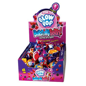 All City Candy Charms Bursting Berry Blow Pops - Case of 48 Lollipops & Suckers Charms Candy (Tootsie) Default Title For fresh candy and great service, visit www.allcitycandy.com