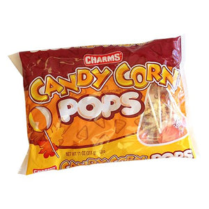 All City Candy Charms Candy Corn Pops - 11-oz. Bag Lollipops & Suckers Charms Candy (Tootsie) 1 Bag For fresh candy and great service, visit www.allcitycandy.com