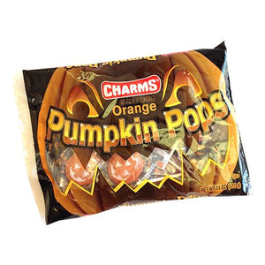 All City Candy Charms Orange Pumpkin Pops - 11-oz. Bag Halloween Charms Candy (Tootsie) Default Title For fresh candy and great service, visit www.allcitycandy.com