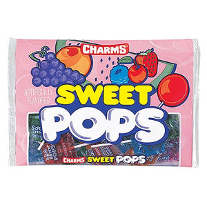 All City Candy Charms Sweet Pops Lollipops & Suckers Charms Candy (Tootsie) 9-oz. Bag For fresh candy and great service, visit www.allcitycandy.com