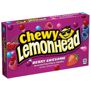 All City Candy Chewy Lemonhead Berry Awesome Assorted Fruit Candies - 5-oz. Theater Box Theater Boxes Ferrara Candy Company 1 Box For fresh candy and great service, visit www.allcitycandy.com