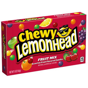 All City Candy Chewy Lemonhead Fruit Mix Assorted Fruit Candies - 5-oz. Theater Box Theater Boxes Ferrara Candy Company 1 Box For fresh candy and great service, visit www.allcitycandy.com