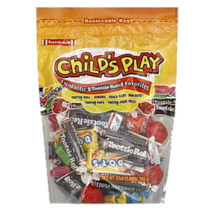 All City Candy Child's Play Funtastic Tootsie Roll Favorites Halloween Tootsie Roll Industries 27-oz. Resealable Bag For fresh candy and great service, visit www.allcitycandy.com