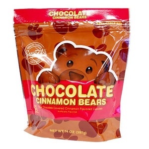 All City Candy Chocolate-Covered Cinnamon Bears Gummi Candy - 14-oz. Resealable Bag Gummi Sweet Candy Company For fresh candy and great service, visit www.allcitycandy.com