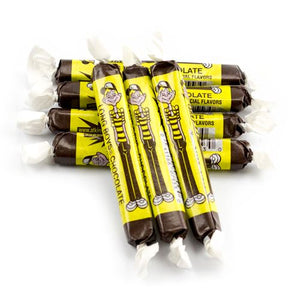 All City Candy Chocolate Long Boys Chewy Caramel - 3 LB Bulk Bag Bulk Wrapped Atkinson's Candy For fresh candy and great service, visit www.allcitycandy.com