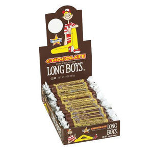 All City Candy Chocolate Long Boys Chewy Caramel .34-oz. - Case of 48 Caramel Candy Atkinson's Candy Default Title For fresh candy and great service, visit www.allcitycandy.com