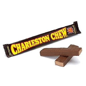 All City Candy Chocolatey Charleston Chew Candy Bar 1.87 oz. Candy Bars Tootsie Roll Industries 1 Bar For fresh candy and great service, visit www.allcitycandy.com