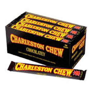 All City Candy Chocolatey Charleston Chew Candy Bar 1.87 oz. Candy Bars Tootsie Roll Industries Case of 24 For fresh candy and great service, visit www.allcitycandy.com