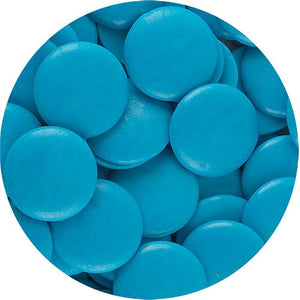 All City Candy ChocoMaker Bright Blue Vanilla Flavored Candy Wafers - 12-oz. Bag Candy Making Supplies ChocoMaker For fresh candy and great service, visit www.allcitycandy.com