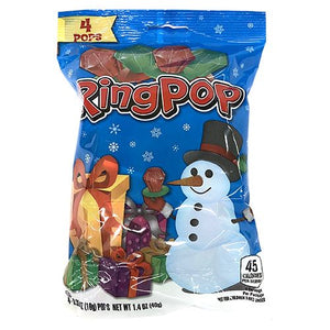 All City Candy Christmas Ring Pops - .35-oz. Bag Christmas Topps For fresh candy and great service, visit www.allcitycandy.com