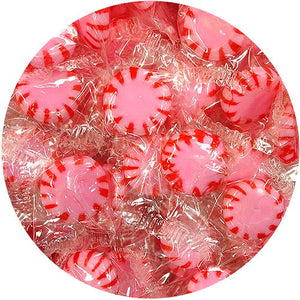 All City Candy Cinnamon Starlight Mints Hard Candy - 3 LB Bulk Bag Bulk Wrapped Sunrise Confections For fresh candy and great service, visit www.allcitycandy.com