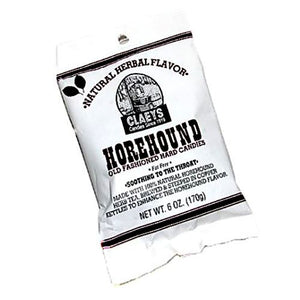 All City Candy Claeys Horehound Old Fashioned Hard Candies - 6-oz. Bag Hard Claeys Candies 1 Bag For fresh candy and great service, visit www.allcitycandy.com