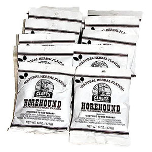 All City Candy Claeys Horehound Old Fashioned Hard Candies - 6-oz. Bag Hard Claeys Candies Case of 12 For fresh candy and great service, visit www.allcitycandy.com