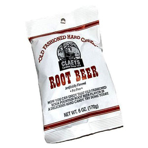 All City Candy Claeys Root Beer Old Fashioned Hard Candies - 6-oz. Bag Hard Claeys Candies 1 Bag For fresh candy and great service, visit www.allcitycandy.com