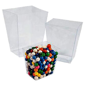 All City Candy Clear Plastic Candy Buffet Buckets - Set of 6 Candy Buffet Supplies Fun Express Default Title For fresh candy and great service, visit www.allcitycandy.com