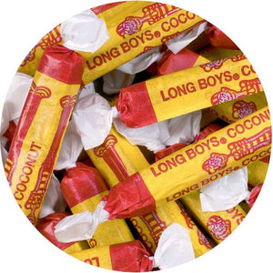 All City Candy Coconut Long Boys Chewy Caramel - 3 LB Bulk Bag Bulk Wrapped Atkinson's Candy Default Title For fresh candy and great service, visit www.allcitycandy.com