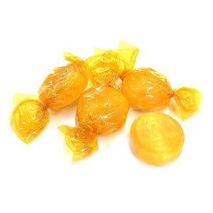 All City Candy Colombina Butterscotch Buttons Hard Candy - 3 LB Bulk Bag Bulk Wrapped Colombina For fresh candy and great service, visit www.allcitycandy.com