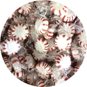 All City Candy Colombina Peppermint Starlight Mints Hard Candy - 3 LB Bulk Bag Bulk Wrapped Colombina For fresh candy and great service, visit www.allcitycandy.com