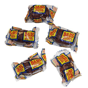 All City Candy Dad's Root Beer Barrels Hard Candy - 3 LB Bulk Bag Bulk Wrapped Washburn Candy For fresh candy and great service, visit www.allcitycandy.com