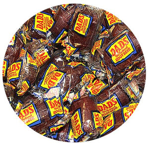 All City Candy Dad's Root Beer Barrels Hard Candy - 3 LB Bulk Bag Bulk Wrapped Washburn Candy Default Title For fresh candy and great service, visit www.allcitycandy.com